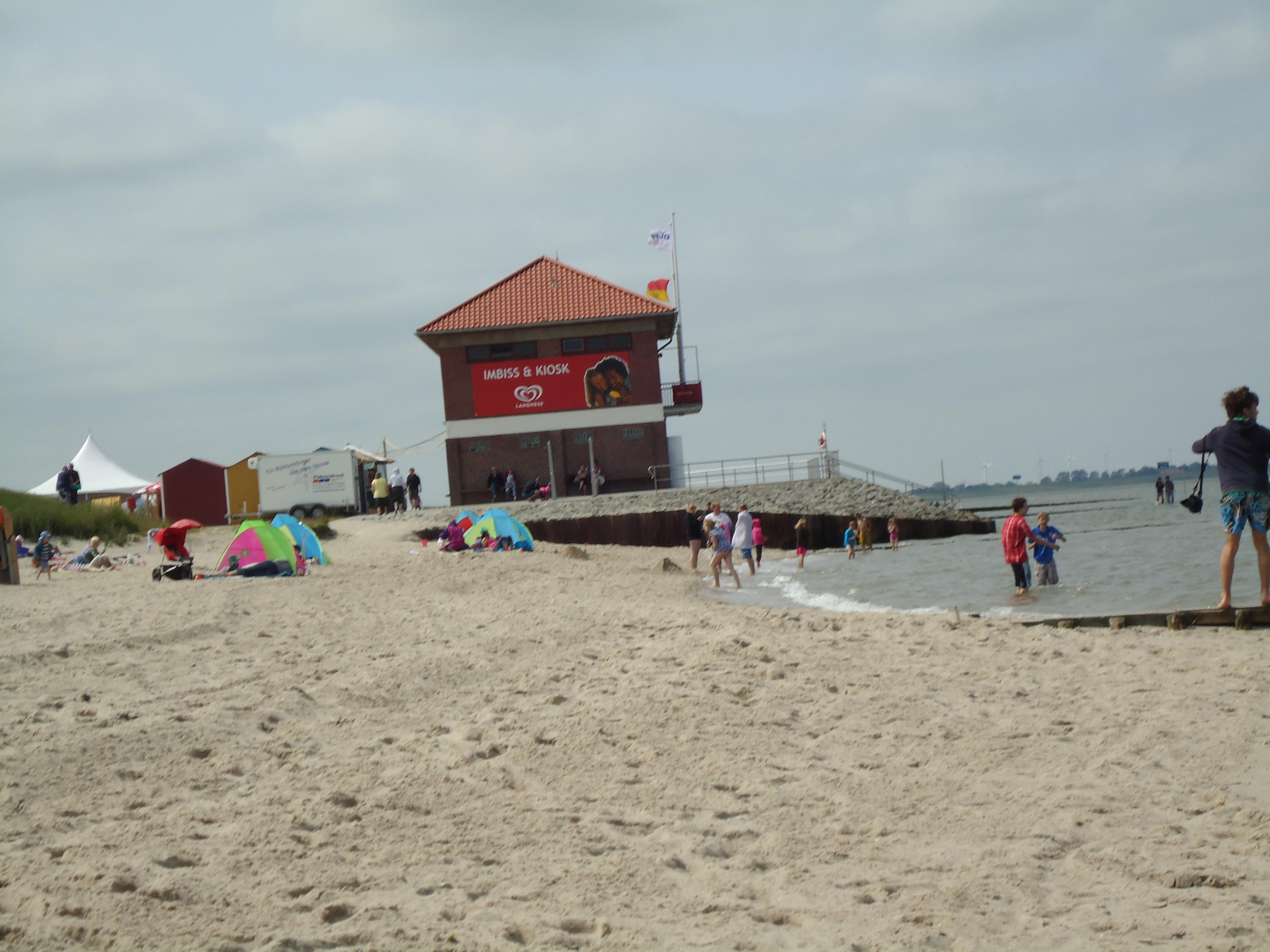 Strand-kiosk